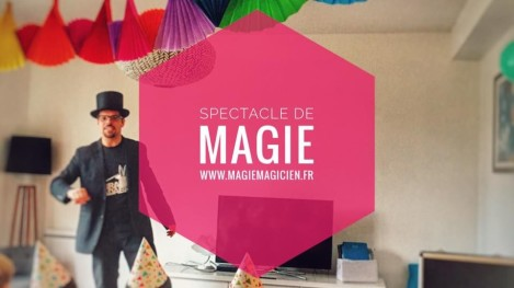 Anniversaire enfant spectacle de magie et animations - MagieMagicen - 14