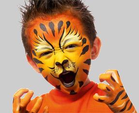 Spectacle de noel - animation enfant - maquillage