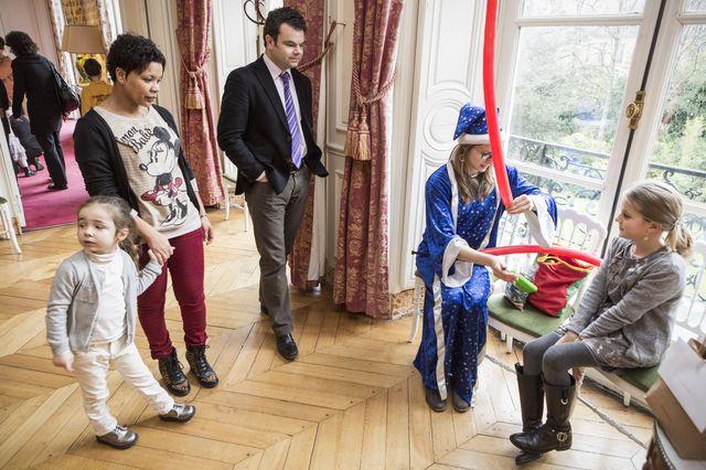 Arbre de Noël du Ministère du travail - Magie Magicien