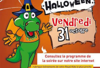 Magicien pour halloween - Royal kids Lannion