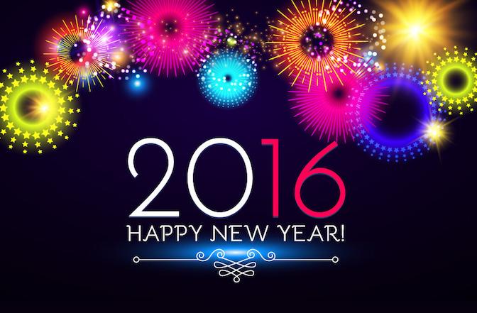 Bonne année 2016-Elvine le magicien