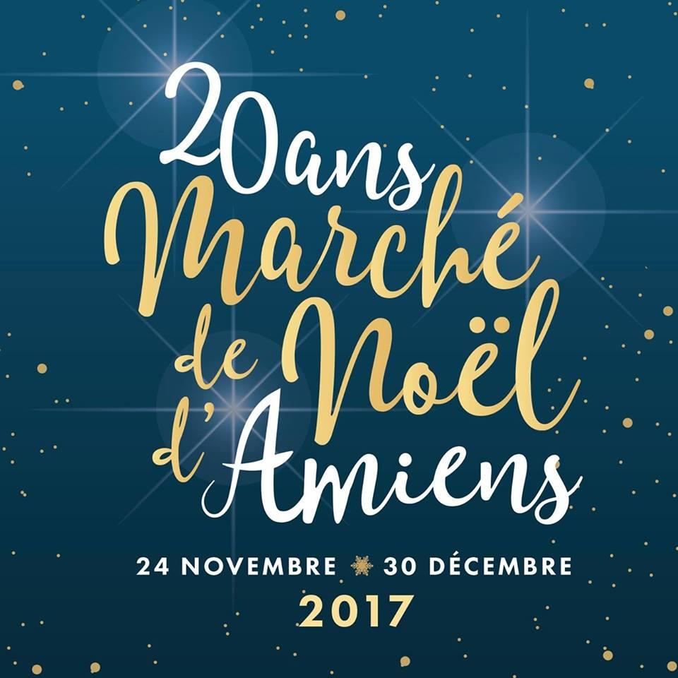 Marché de Noel d'Amiens